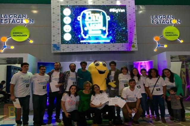 Ganadores Science Slam Festival Paraguay