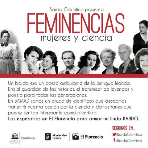 Feminencias - Mujeres Ciencia - Bardo Científico