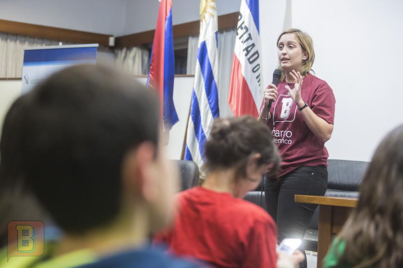 Daniela Arredondo Bardo científico liceo 55 Montevideo