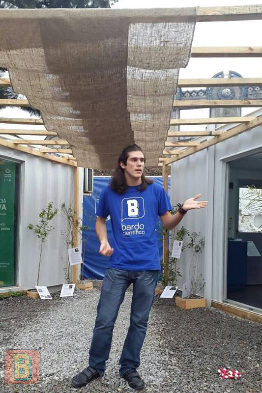 Agustín Rodriguez Bardo Científico expoprado 2017