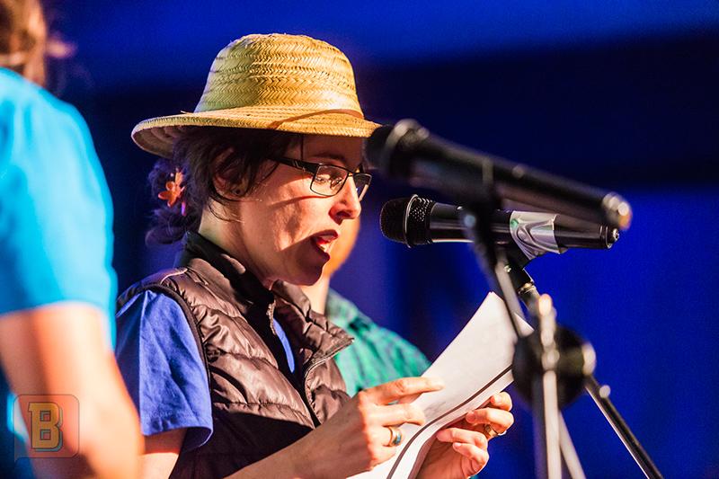 Festival monólogos científicos bardo uruguay Montevideo Daniela Arredondo Soledad Machado Rocío Ramirez Andrés Pastorini William Stebniki