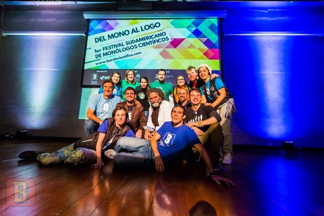 Festival monólogos científicos bardo uruguay Montevideo