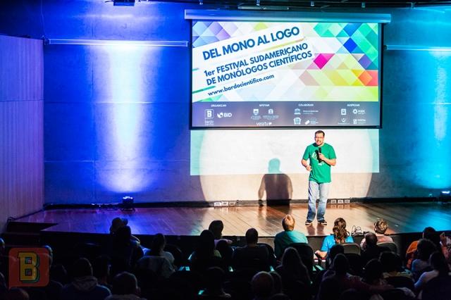 Festival monólogos científicos bardo uruguay Montevideo Heriberto Nuñez