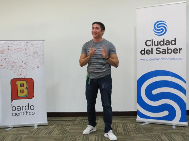 taller ciencia en escena panamá 2019
