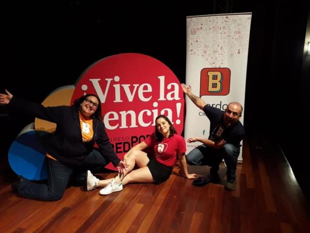 taller ciencia en escena panamá 2019 bardo científico redpop